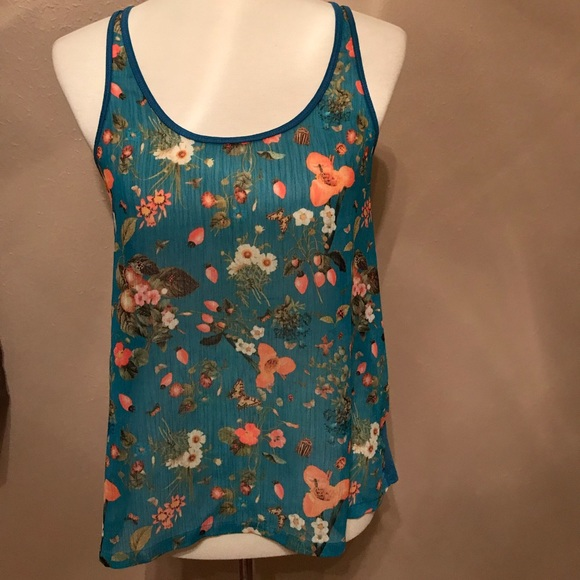 7f2bcec6582cf4 NWOT Vera wang princess line lace up back tank top.  M 5b3cebf4d6dc52a8d42521b3